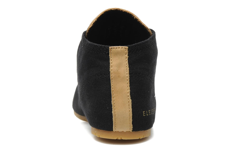 Sneaker Eleven paris Basic Colors F schwarz ansicht von rechts