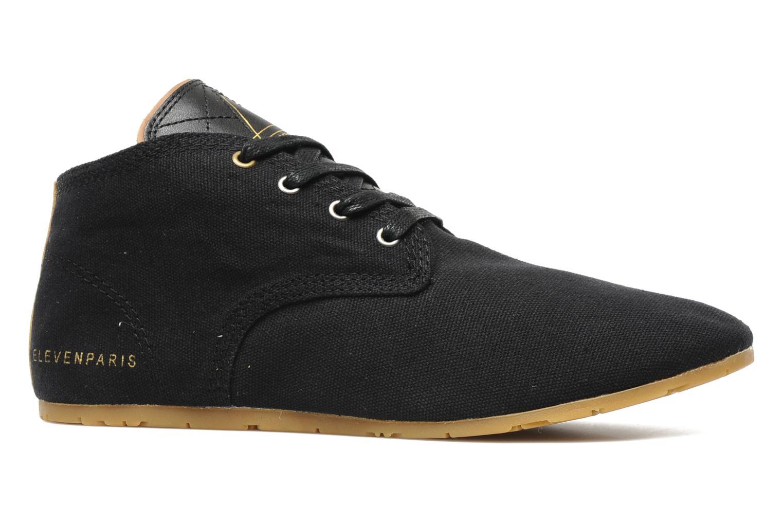 Sneaker Eleven paris Basic Colors F schwarz ansicht von hinten