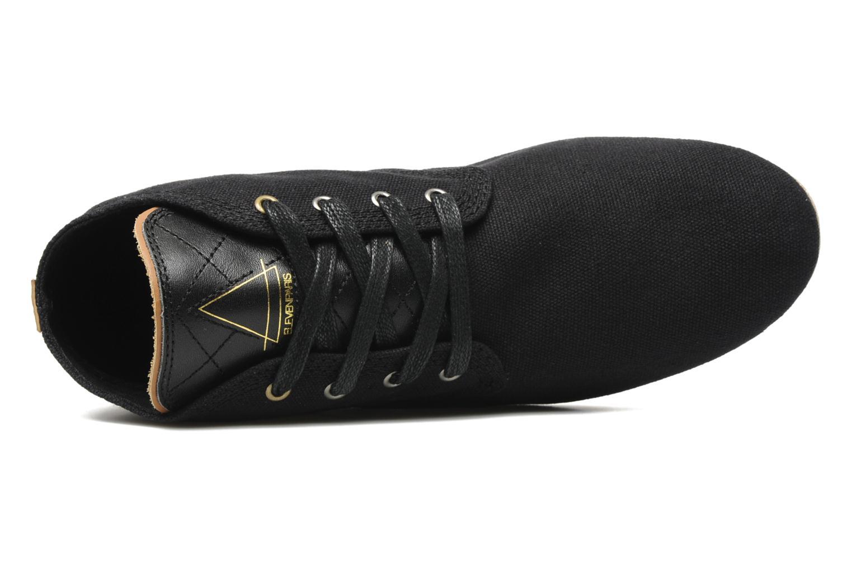 Sneaker Eleven paris Basic Colors F schwarz ansicht von links