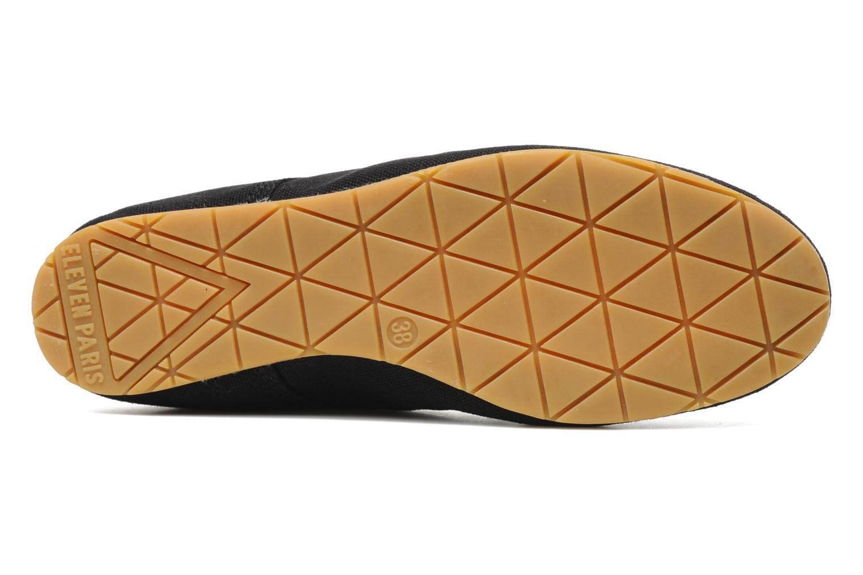 Sneaker Eleven paris Basic Colors F schwarz ansicht von oben