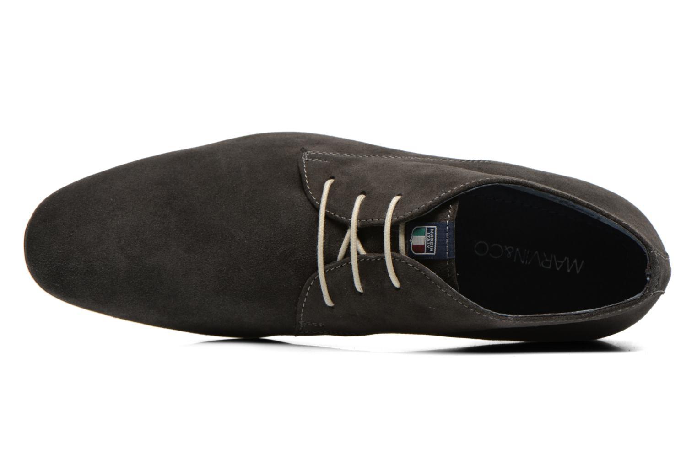 Chaussures à lacets Marvin&Co Nathanael Gris vue gauche