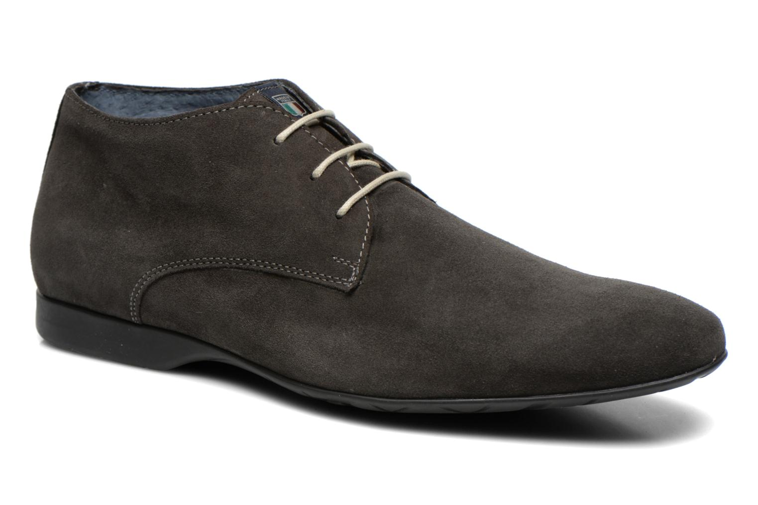 Lace-up shoes Marvin&co Nathanael Grey detailed view/ Pair view