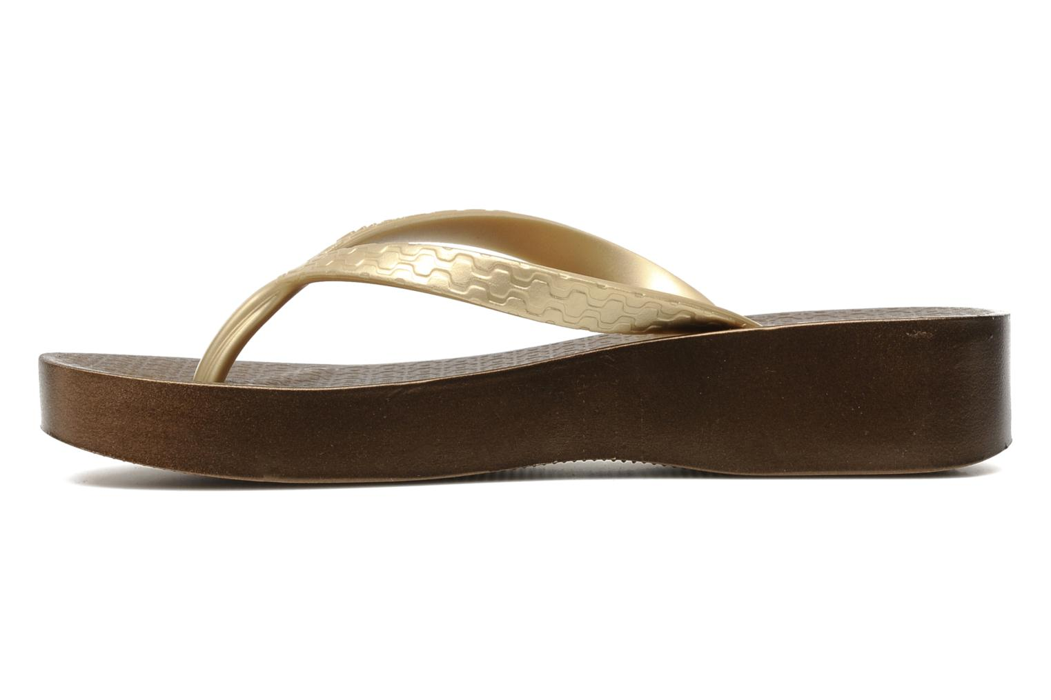 Brasil Tropical Plat Fem Beige bronze gold