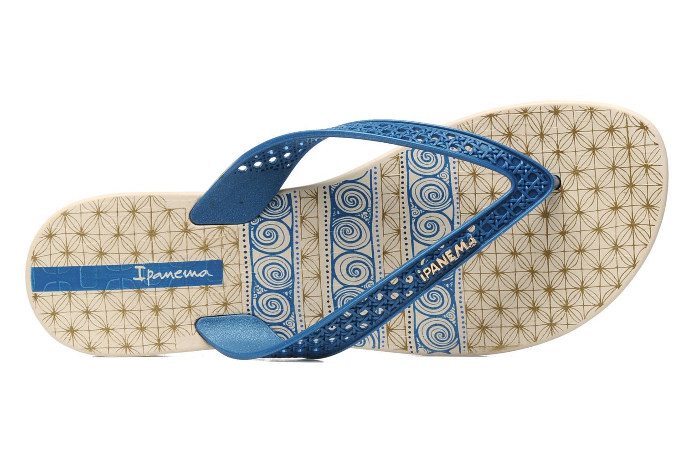 Slippers Ipanema Ethnic Thong Fem Blauw links