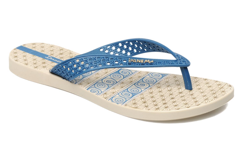 Slippers Ipanema Ethnic Thong Fem Blauw detail