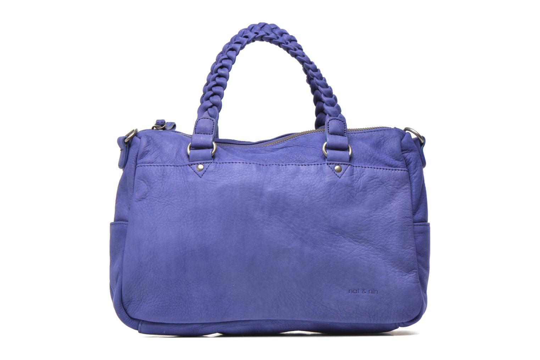 Handtassen Nat & Nin Hollie Blauw detail