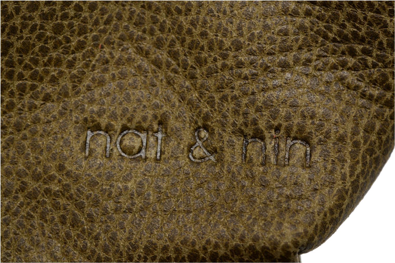Petite Maroquinerie Nat & Nin Bibi Vert vue gauche