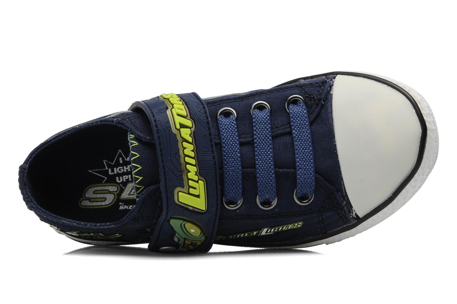 Trainers Skechers Stoked-Roswell - 90428N Blue view from the left