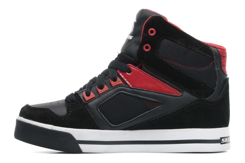 Sneakers Skechers Yoke - 91480L Zwart voorkant