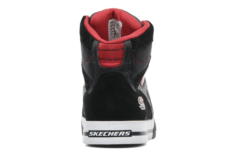 Sneakers Skechers Yoke - 91480L Zwart rechts