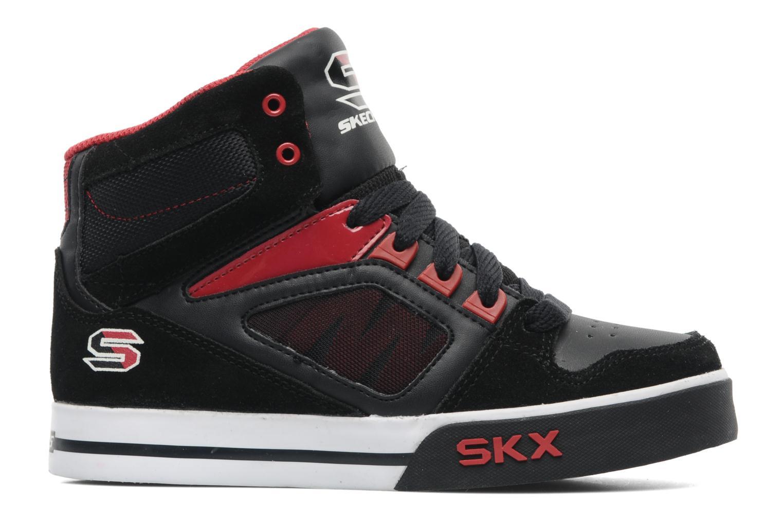 Sneakers Skechers Yoke - 91480L Zwart achterkant
