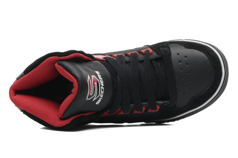 Sneakers Skechers Yoke - 91480L Zwart links