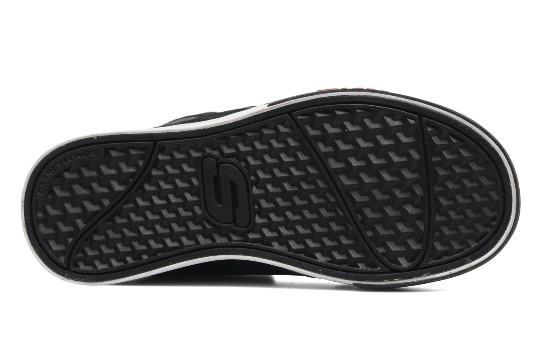 Sneakers Skechers Yoke - 91480L Zwart boven