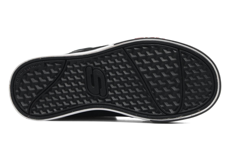 Baskets Skechers Yoke - 91480L Noir vue haut
