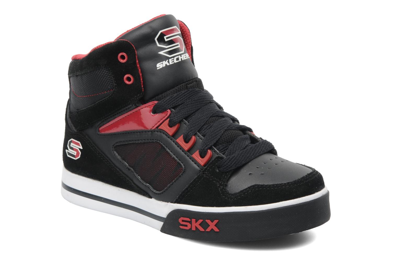 Sneakers Skechers Yoke - 91480L Zwart detail
