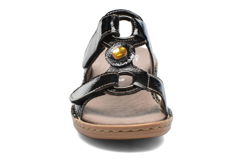 Mules et sabots Ara Hawai Noir vue portées chaussures