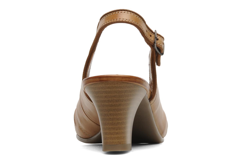 Sandales et nu-pieds Ara VE-S C Marron vue droite