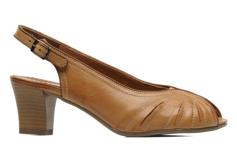 Sandales et nu-pieds Ara VE-S C Marron vue derrière