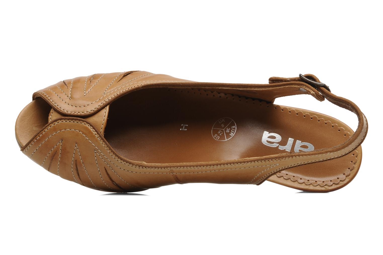 Sandales et nu-pieds Ara VE-S C Marron vue gauche
