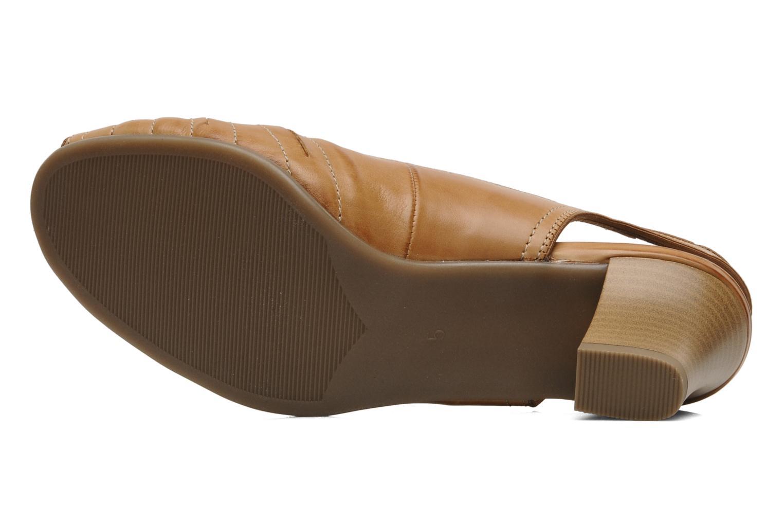 Sandales et nu-pieds Ara VE-S C Marron vue haut