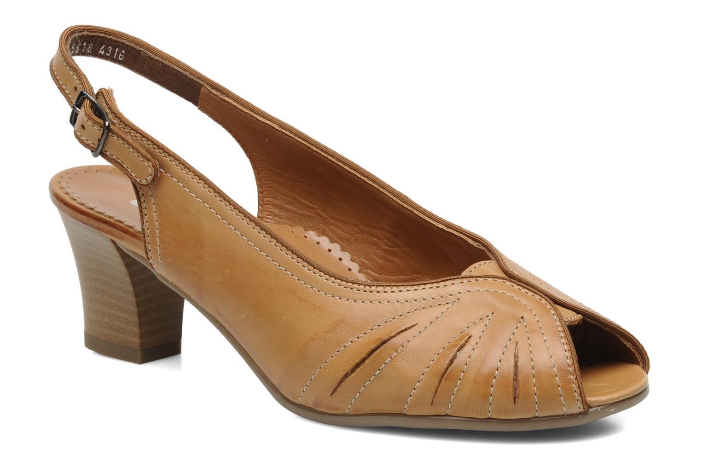 Sandales et nu-pieds Ara VE-S C Marron vue détail/paire