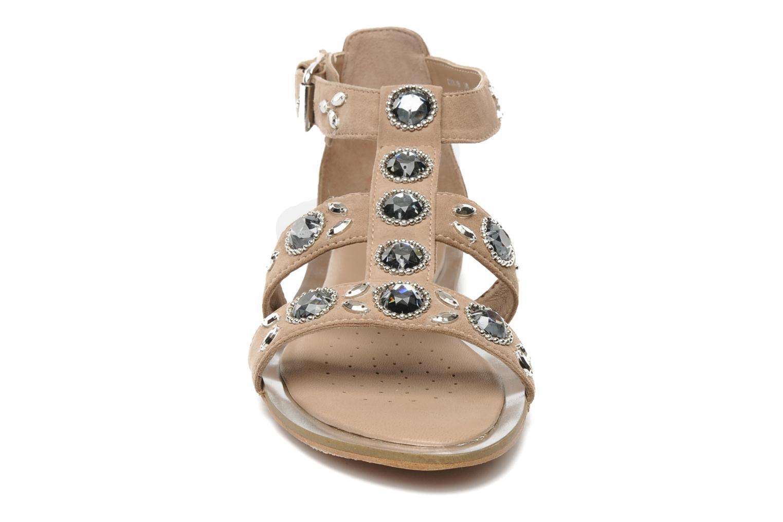 Sandales et nu-pieds Geox D SWEETNESS B Rose vue portées chaussures