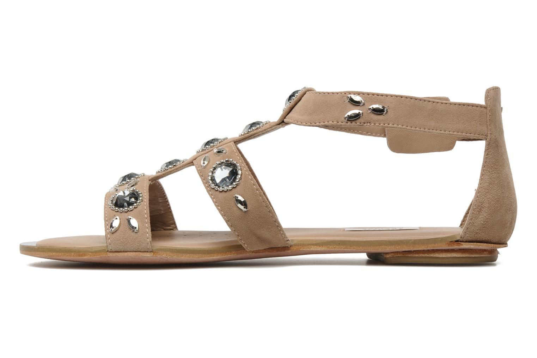 Sandales et nu-pieds Geox D SWEETNESS B Rose vue face