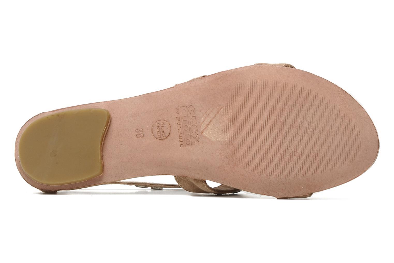 Sandales et nu-pieds Geox D SWEETNESS B Rose vue haut