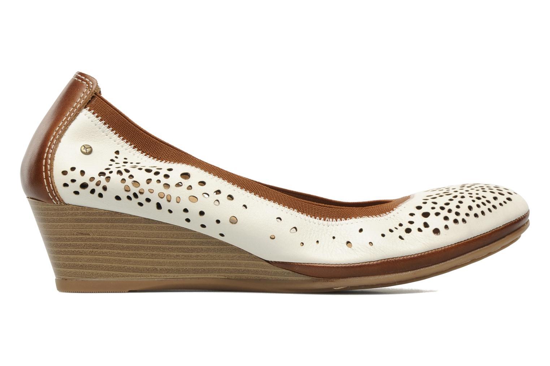 Zapatos de tacón Pikolinos Trento 9410 Blanco vistra trasera