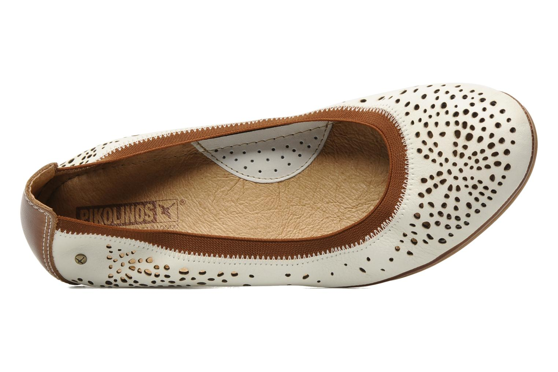 Zapatos de tacón Pikolinos Trento 9410 Blanco vista lateral izquierda