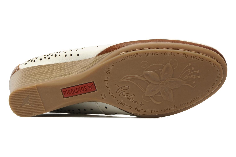 Zapatos de tacón Pikolinos Trento 9410 Blanco vista de arriba