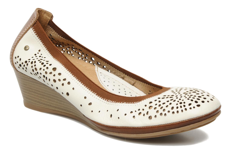 Zapatos de tacón Pikolinos Trento 9410 Blanco vista de detalle / par