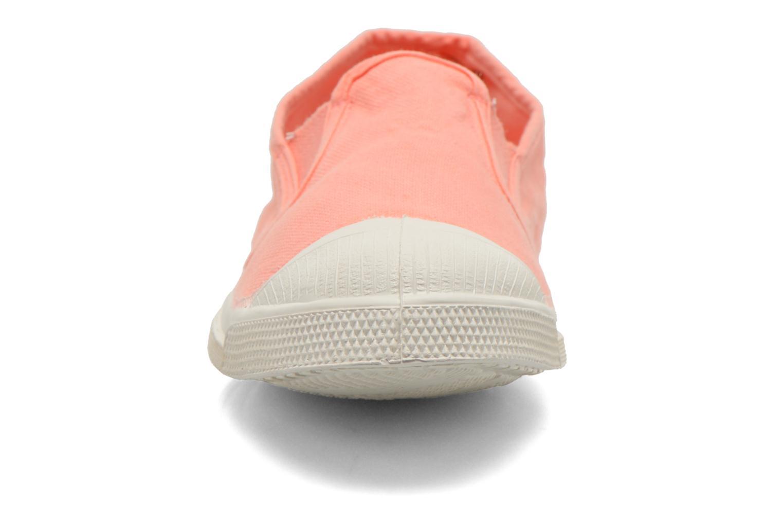 Baskets Bensimon Tennis Tommy F Orange vue portées chaussures