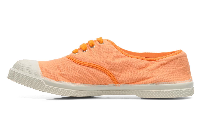 Sneakers Bensimon Tennis Colorpiping Oranje voorkant