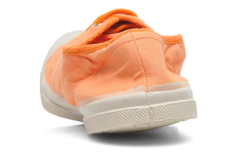 Sneakers Bensimon Tennis Colorpiping Oranje rechts