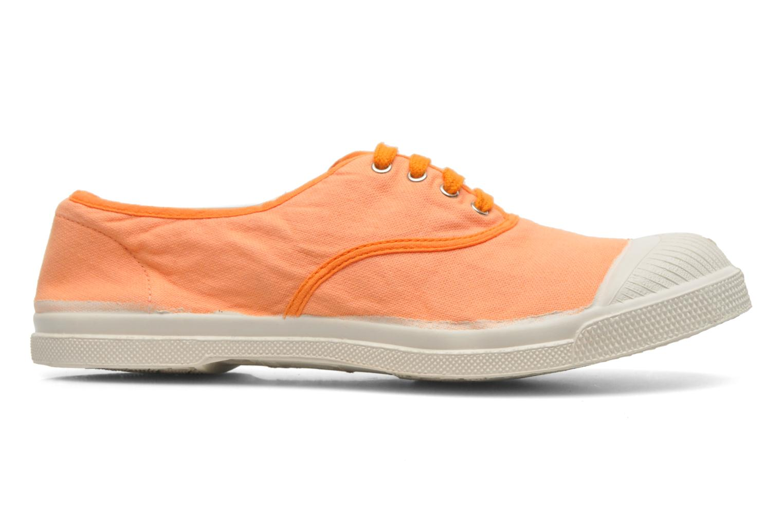 Sneakers Bensimon Tennis Colorpiping Oranje achterkant