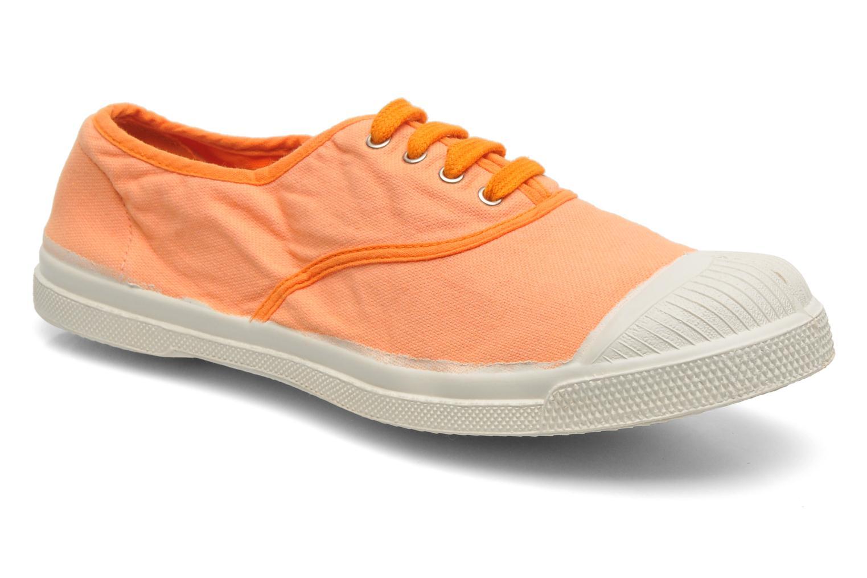Sneakers Bensimon Tennis Colorpiping Oranje detail