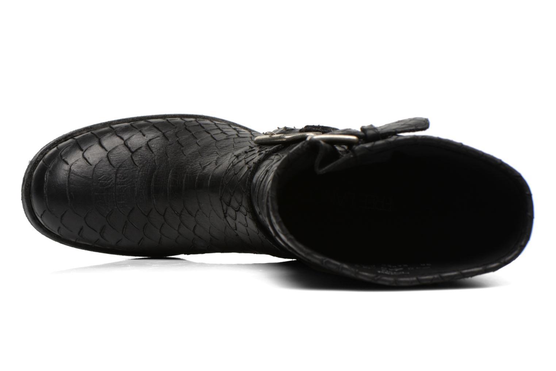 Bottines et boots Free Lance Biker 7 Mid Strap Noir vue gauche