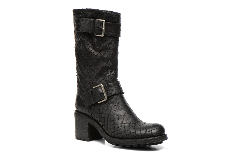 Bottines et boots Free Lance Biker 7 Mid Strap Noir vue détail/paire