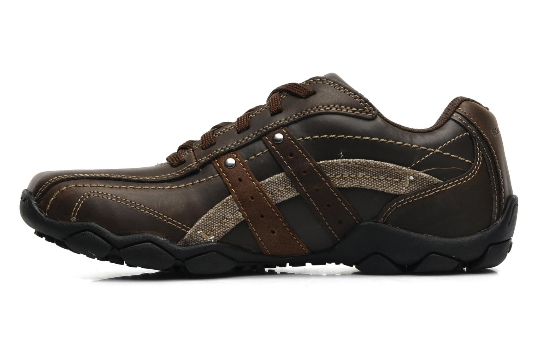 Sneaker Skechers Diameter Blake 63385 braun ansicht von vorne