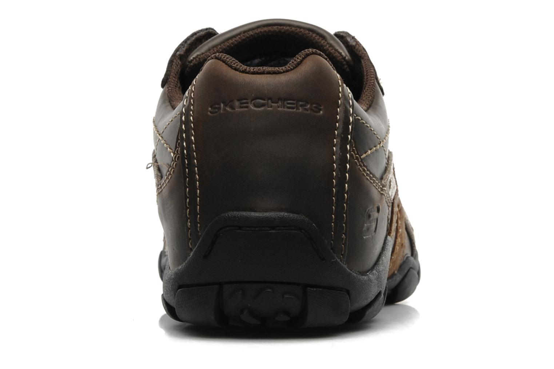 Sneaker Skechers Diameter Blake 63385 braun ansicht von rechts