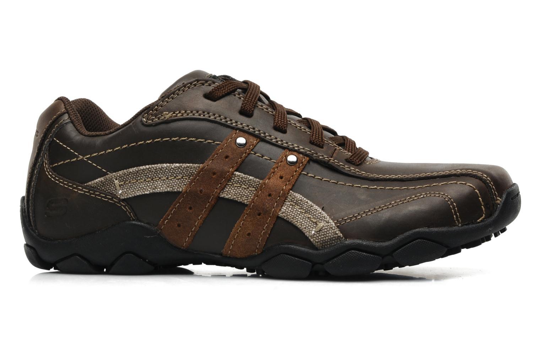Sneaker Skechers Diameter Blake 63385 braun ansicht von hinten