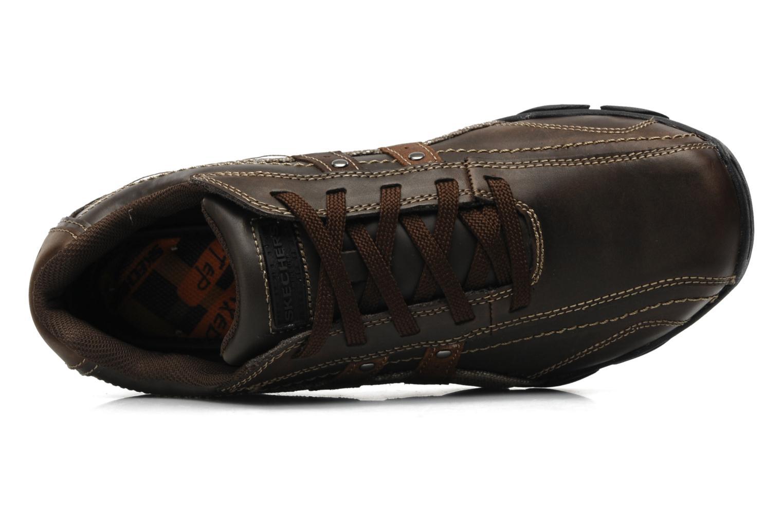 Sneaker Skechers Diameter Blake 63385 braun ansicht von links