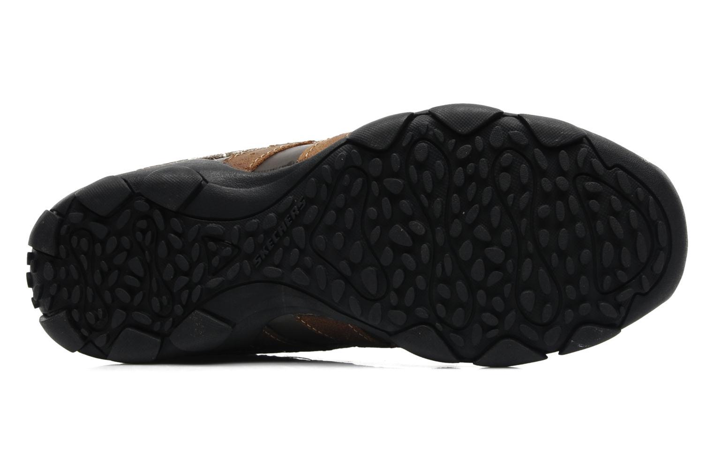 Sneaker Skechers Diameter Blake 63385 braun ansicht von oben