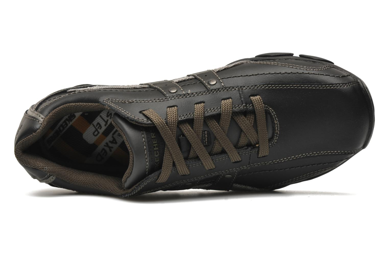 Baskets Skechers Diameter Blake 63385 Noir vue gauche