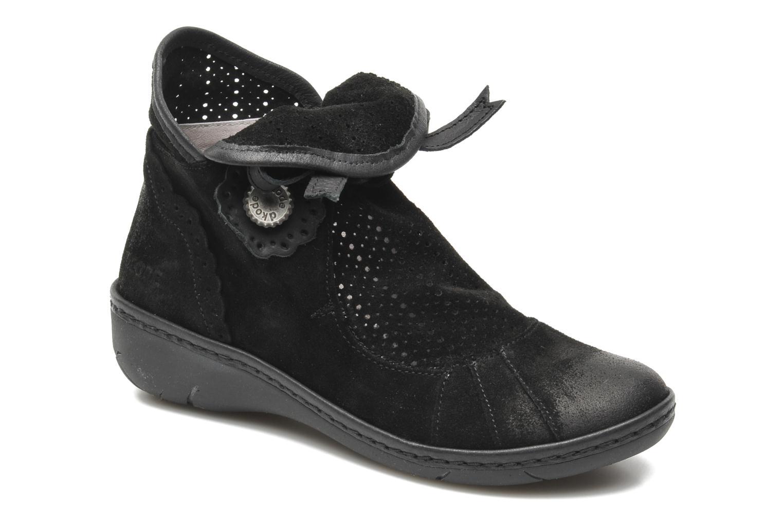 Boots en enkellaarsjes Dkode Napini 2 Zwart detail
