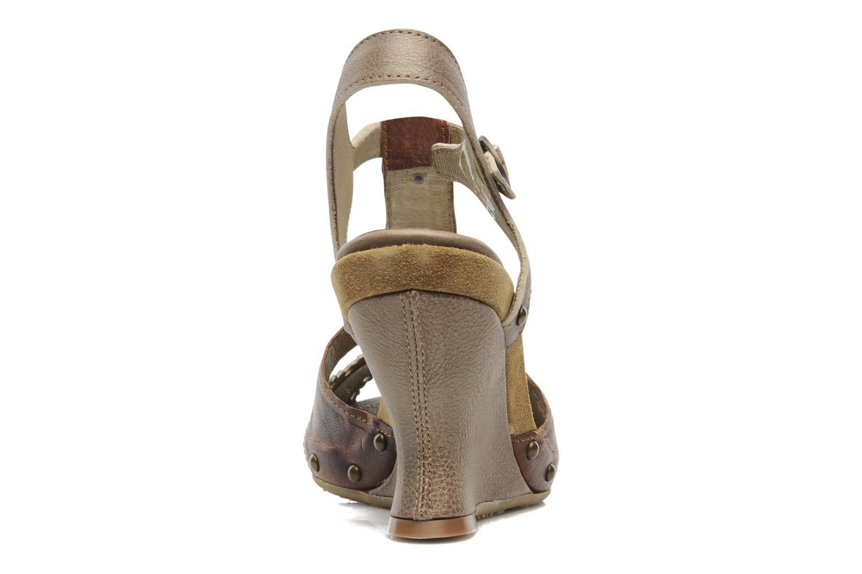 Sandales et nu-pieds Dkode Agnes Marron vue droite