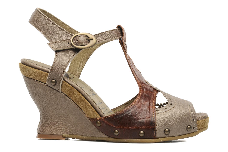 Sandales et nu-pieds Dkode Agnes Marron vue derrière