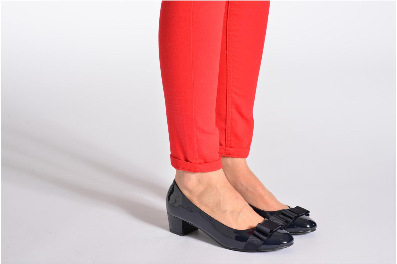 Zapatos de tacón Eclipse Ballerine Clémence Negro vista de abajo