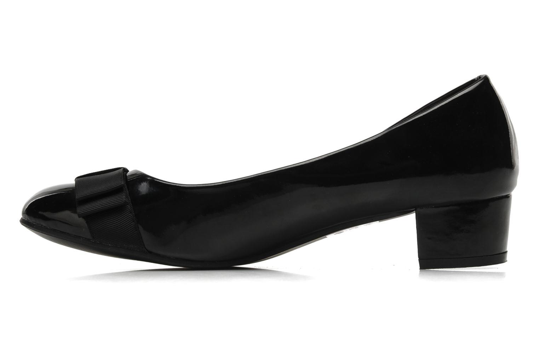 Zapatos de tacón Eclipse Ballerine Clémence Negro vista de frente